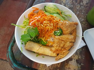 Buddha Bowl Vermicelli Salad at Cafe O-Mai