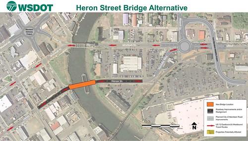 US 12 Heron Street Bridge Alternatives