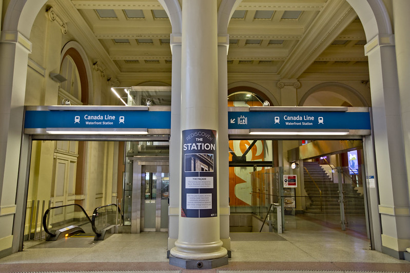 Waterfront Skytrain Station