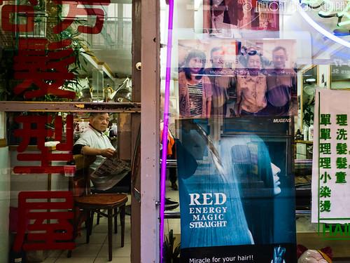 Barbershop in Chinatown