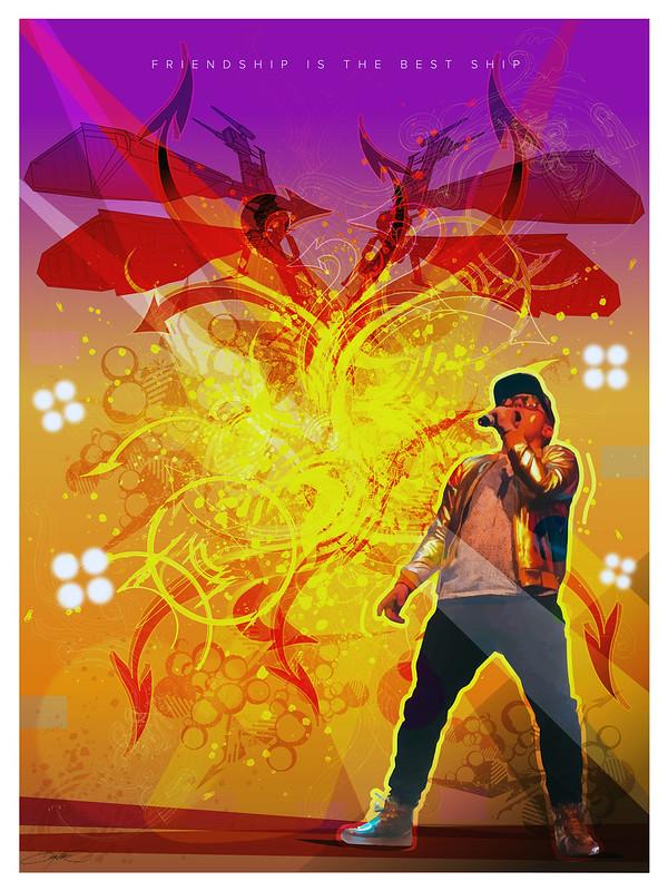 CCP Guard Rock God Poster