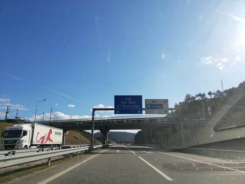 A24 - saída Vidago