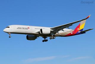 F-WZFJ Airbus A350 Asiana