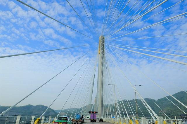 Ting Kau Bridge, Fujifilm X-E3, XF16mmF1.4 R WR