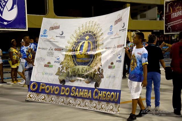 ET Vila 190210 003 Banner O povo do samba chegou