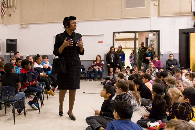 Black History Reenacted at Jackson Elementary