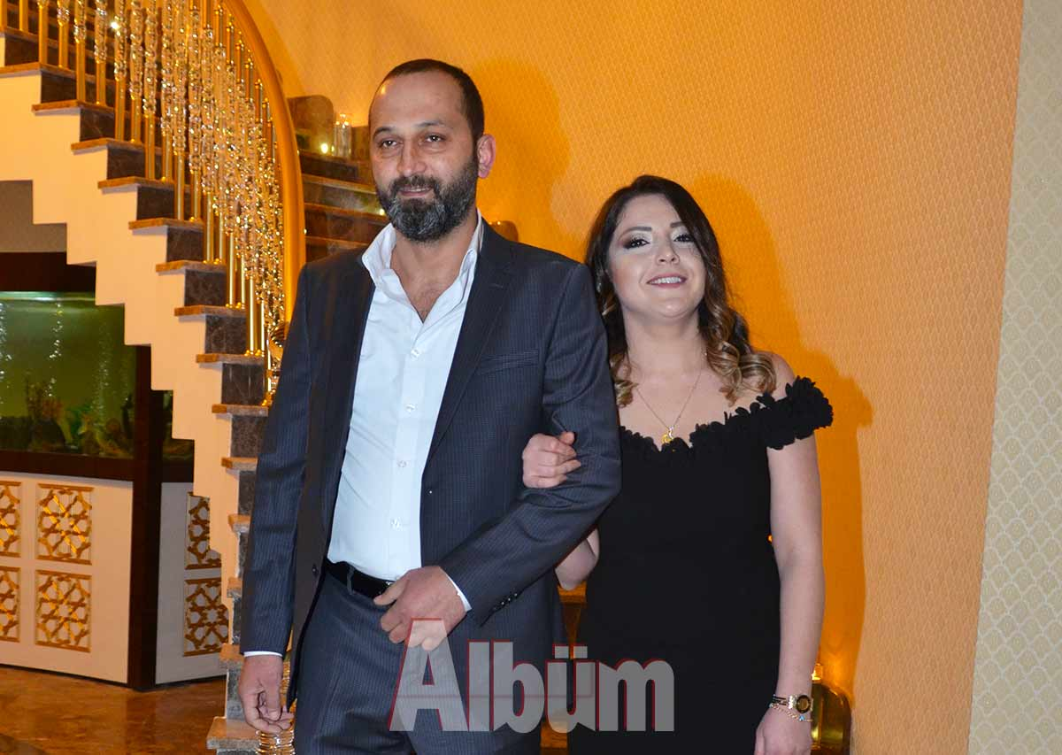 Şirin ve Kerem evlendi