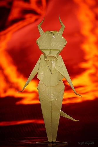 Origami Devil (Robert Harbin)