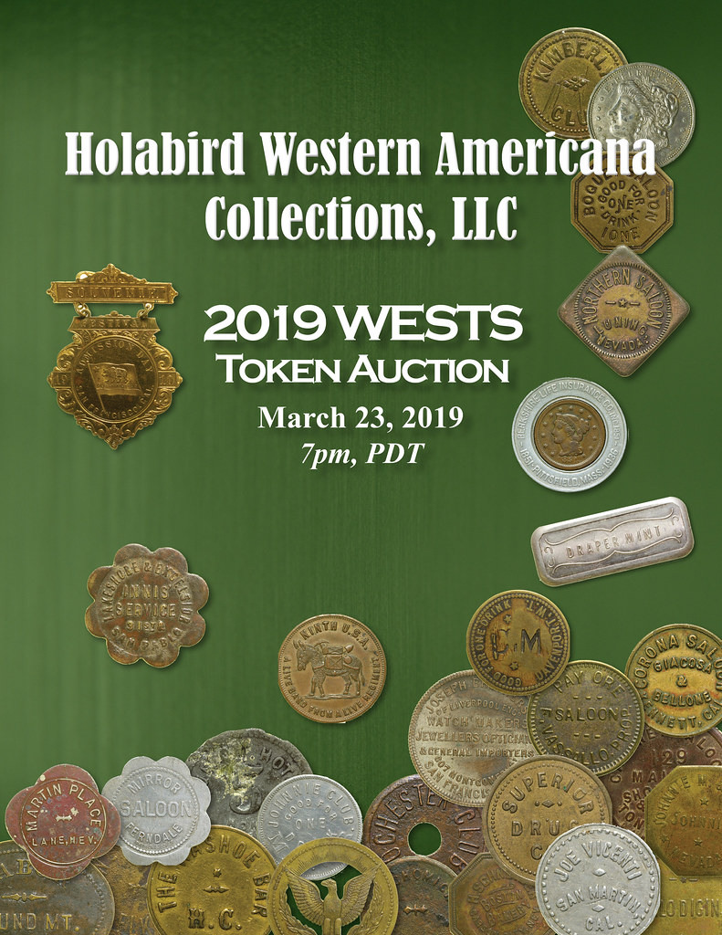 Holabird E-Sylum ad 2019-03-10 WESTS sale
