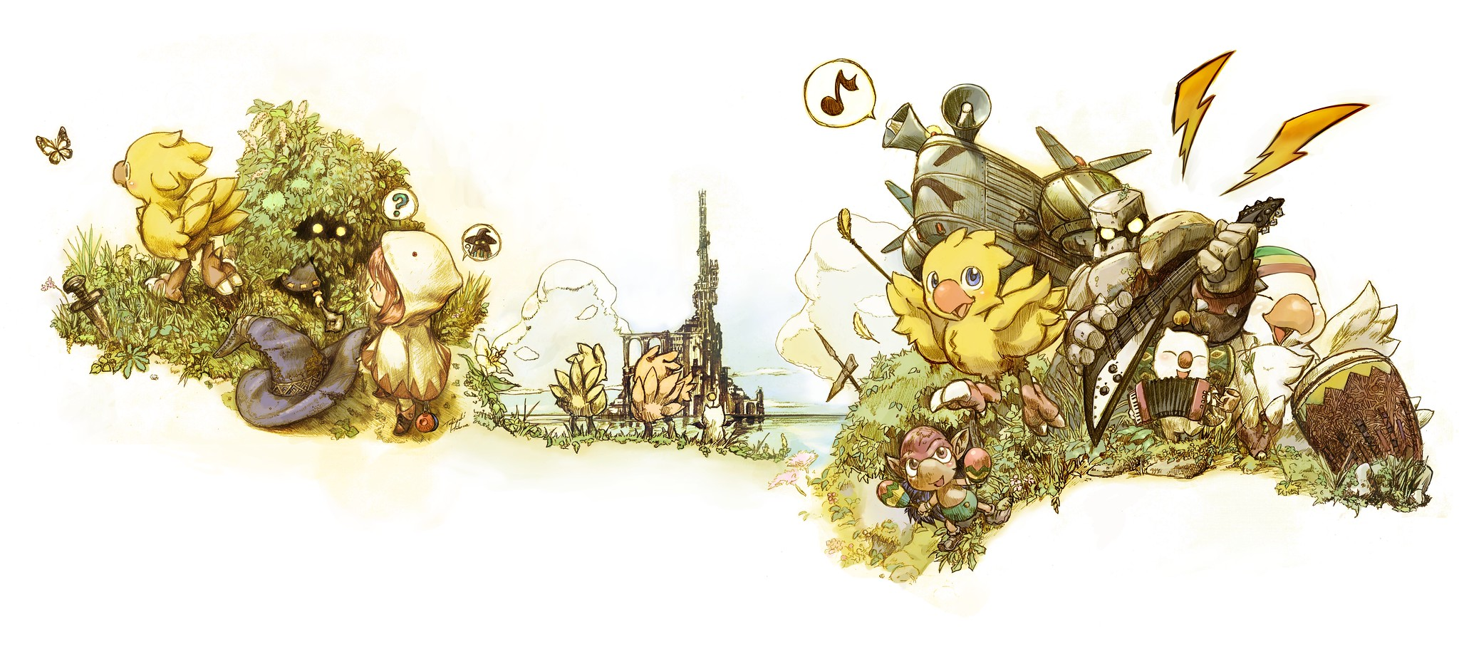 Chocobo's Mystery Dungeon Every Buddy! Out Today, Character Designer