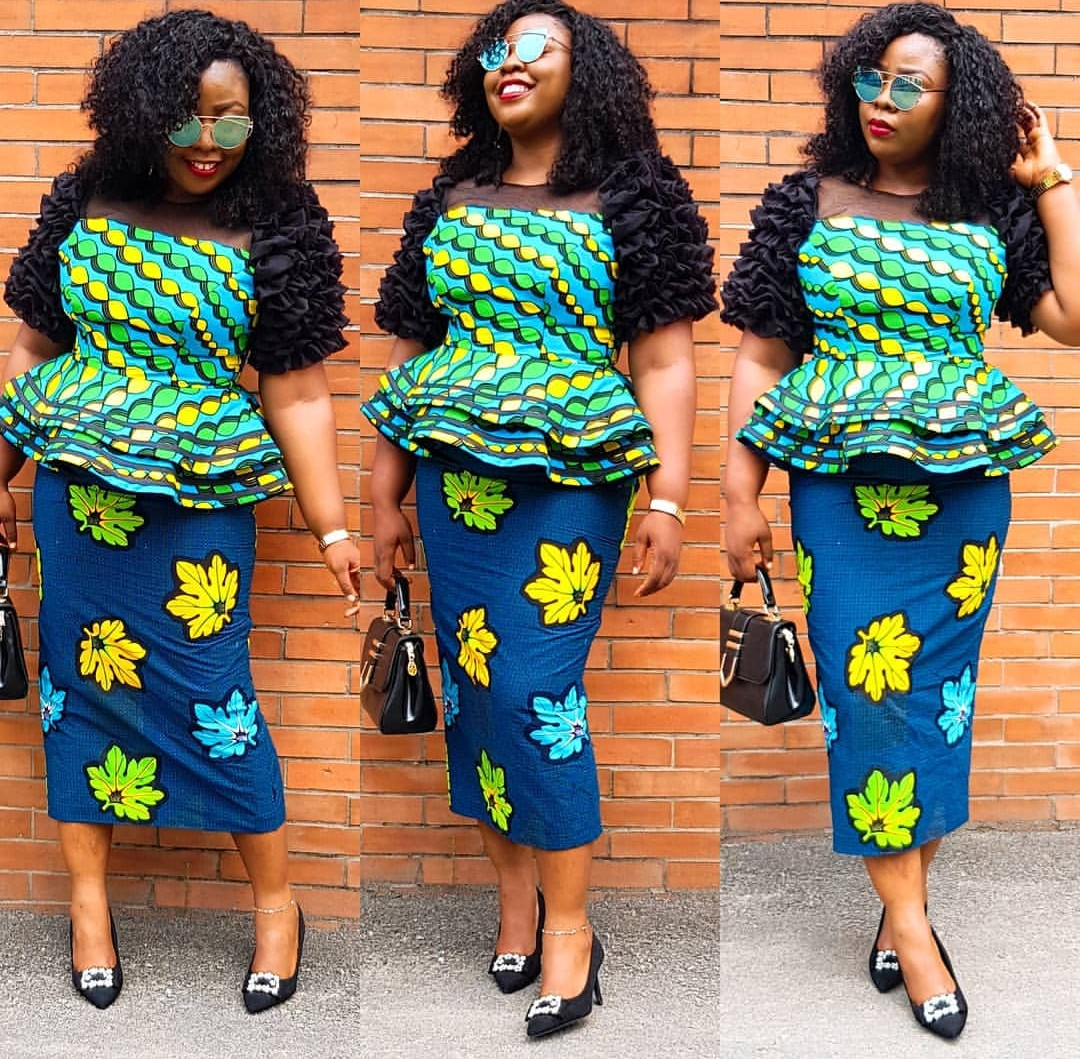 LATEST ANKARA STYLE 2020 FOR WOMAN FOR EVERY OCCASION! 2