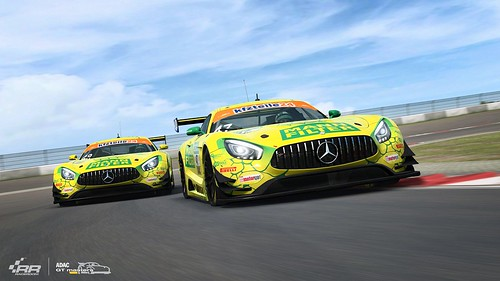 RaceRooom Mercedes-AMG tHTP Motorsport