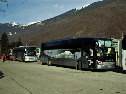 Setra S516HD Autocars Borini DX-195-VY Langon / La Bathie (73 Savoie) 26-01-19a