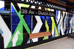 Reopening of the 39 Av-Dutch Kills station on the Astoria Line