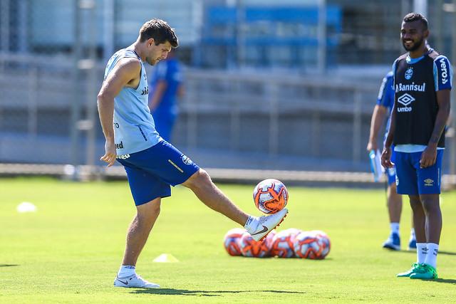 Treino Grêmio 20/02/19