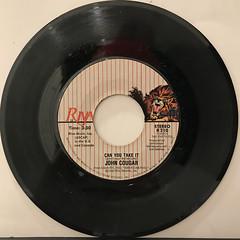 JOHN COUGAR:JACK & DIANE(RECORD SIDE-B)
