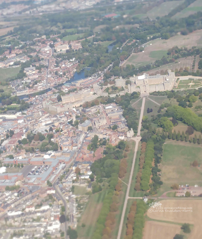 Windsor Castle from the air