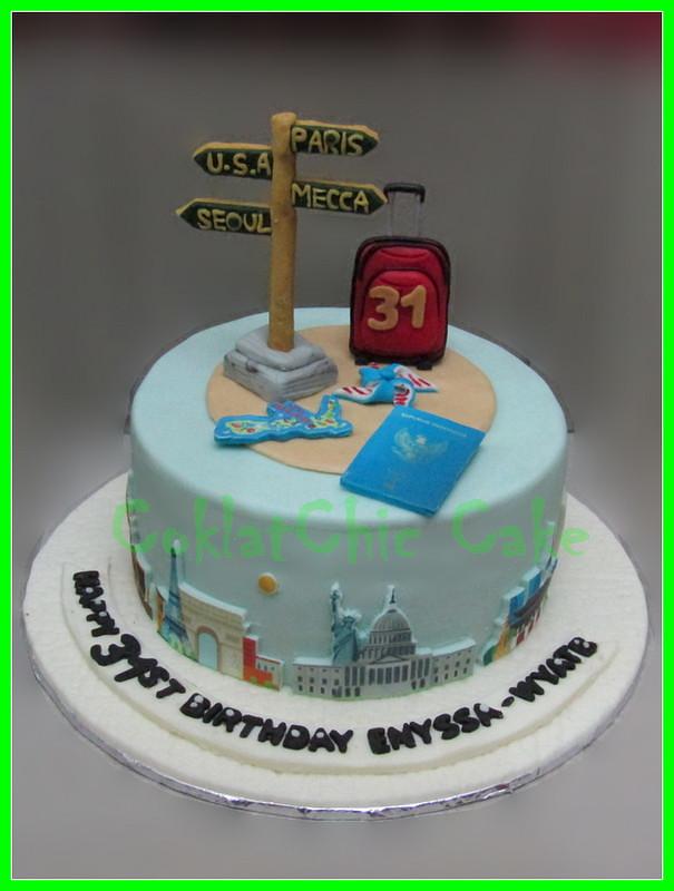 Cake Travel ENYSSA 15 cm