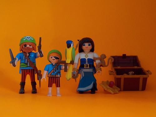 Una familia de piratas ☺