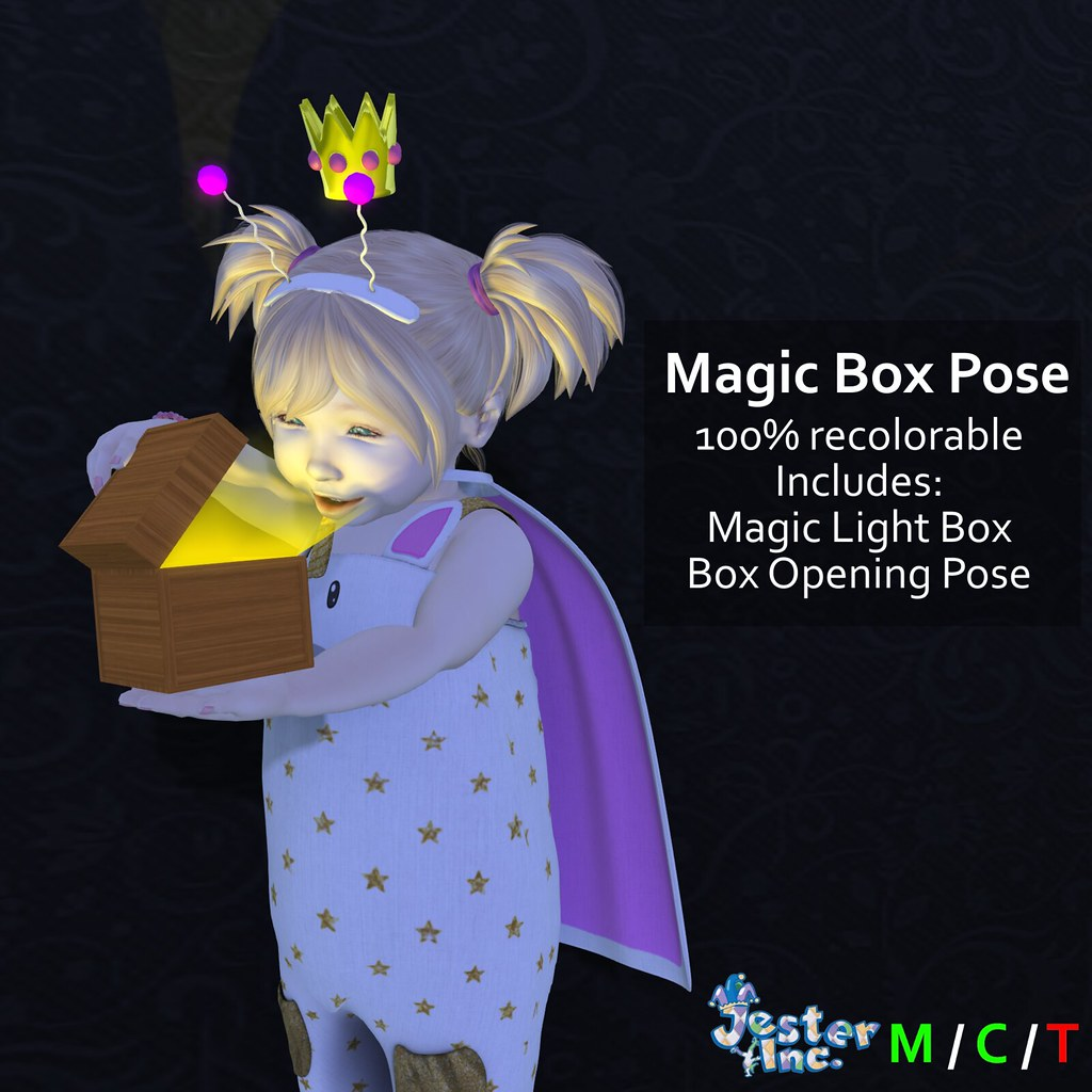 Presenting the Magic Box Pose from Jester Inc. - TeleportHub.com Live!