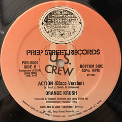 ORANGE KRUSH:ACTION(LABEL SIDE-B)