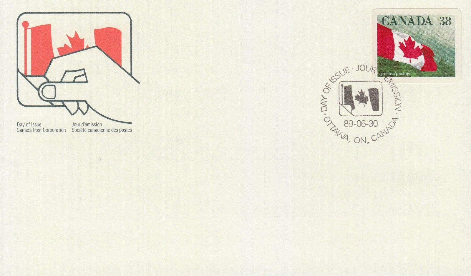 Canada - Scott #1191 (1989) first day cover