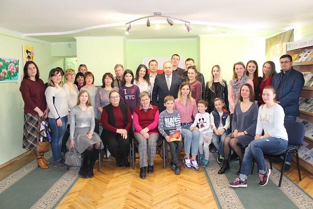 31 marca 2019 Uroczyste Spotkanie TKP w Sumach z okazji 450 rocznicy Unii Lubelskiej w bibliotece miejskiej