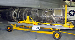 General Electric YJ93-GE-3 Turbojet, National Museum of the US Air Force, Dayton, Ohio, USA.