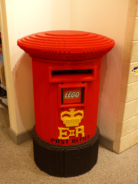 post office lego