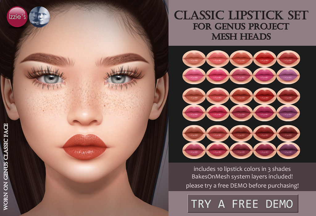 Classic Lipstick Set (Genus Project)