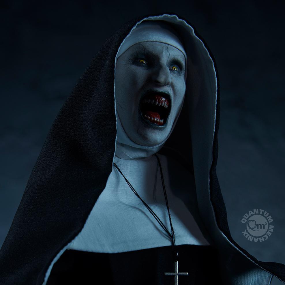 猙獰扭曲的吼叫臉是要嚇死誰?! Quantum Mechanix《鬼修女》鬼修女 The Nun 1/6 比例人偶作品