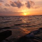 Sonnenuntergang Südstrand Fehmarn - 7. Februar 2019 - Schleswig-Holstein - Deutschland