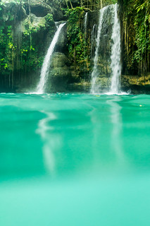The majestic Kawasang falls