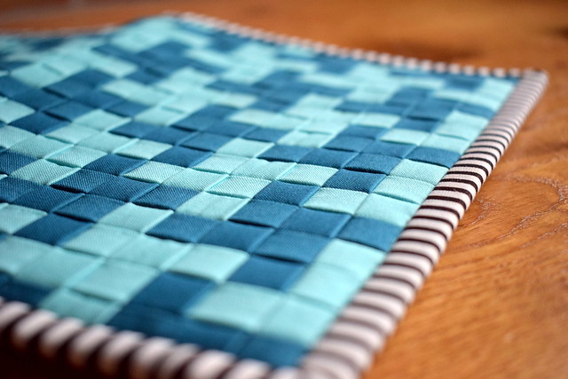 Wefty Woven Notebook Cover