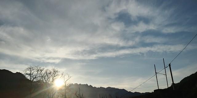 봄날 하늘풍경