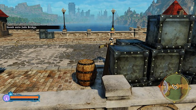 One Piece World Seeker - Barril Stealth
