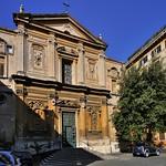 Baroque façade, 17thC, San Martino ai Monti, Rome - https://www.flickr.com/people/11200205@N02/
