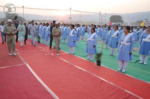 Arrival of Her Holiness Satguru Mata Sudiksha Ji