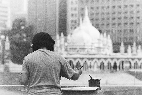 (FILM) Street Sketcher - Masjid Jamek, Kuala Lumpur