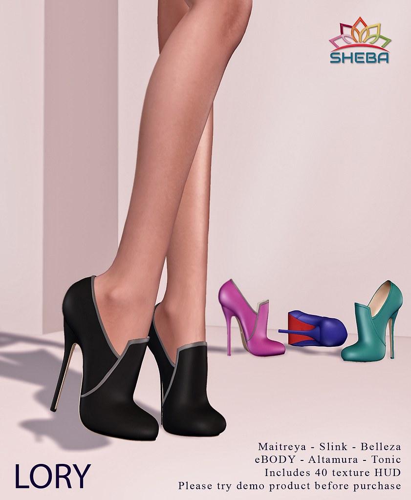 [Sheba] Lory Heels - TeleportHub.com Live!