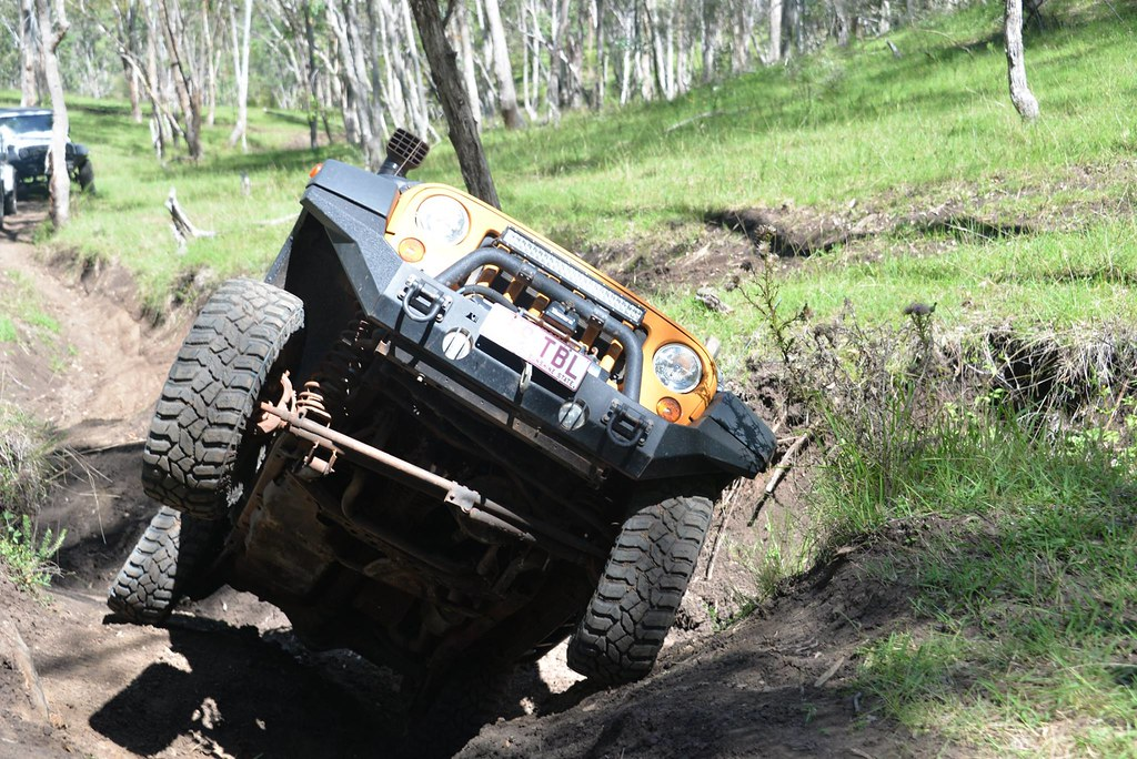 Almost Rolling The Jeep At Janowen 4×4 Park