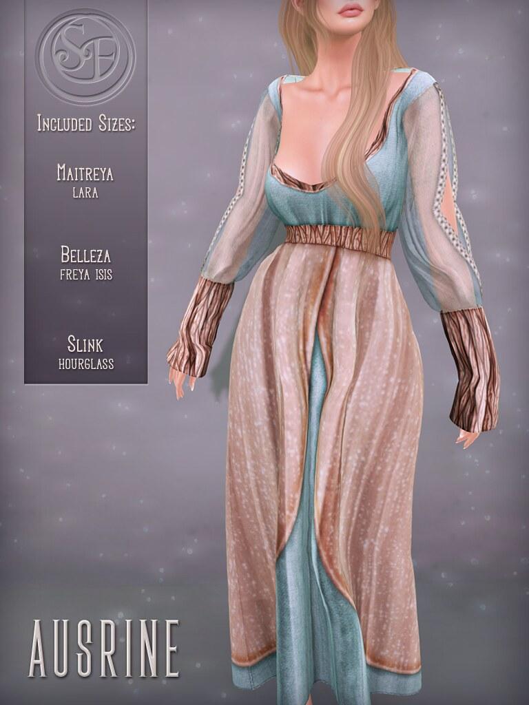 Senzafine. Ausrine Gown poster - TeleportHub.com Live!