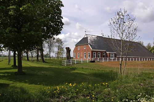 Groningen: Zuurdijk, boerderij Dijkstede