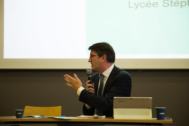 Séminaire académique de la lutte contre  le décrochage scolaire, Lycée Stéphane Hessel, 14 janv.  2019