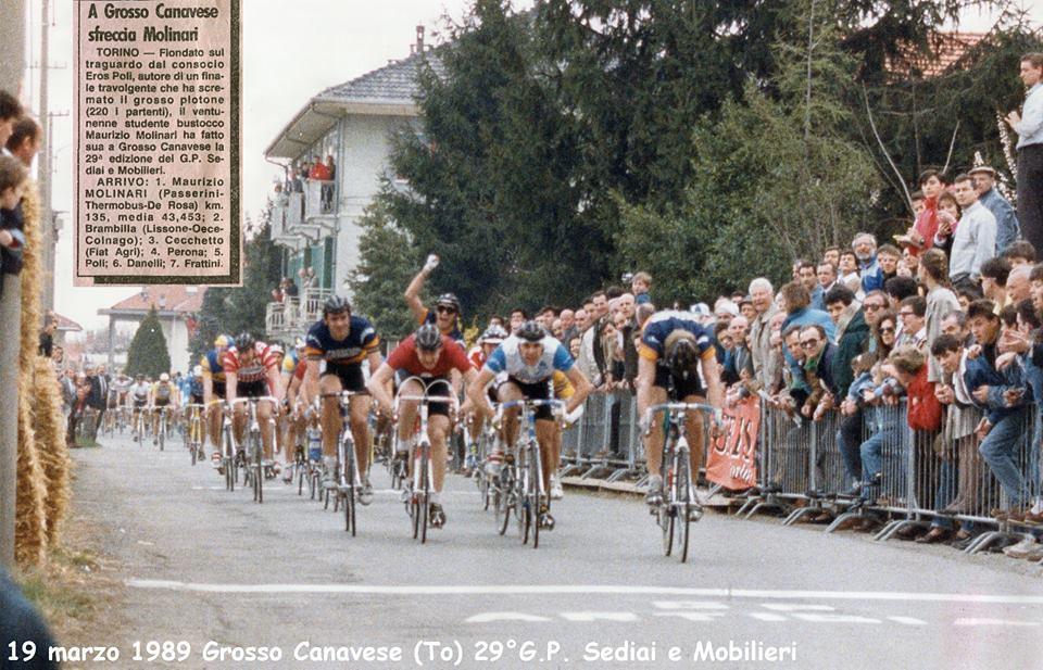 19 marzo 1989 Grosso Canavese vittoria di Molinari