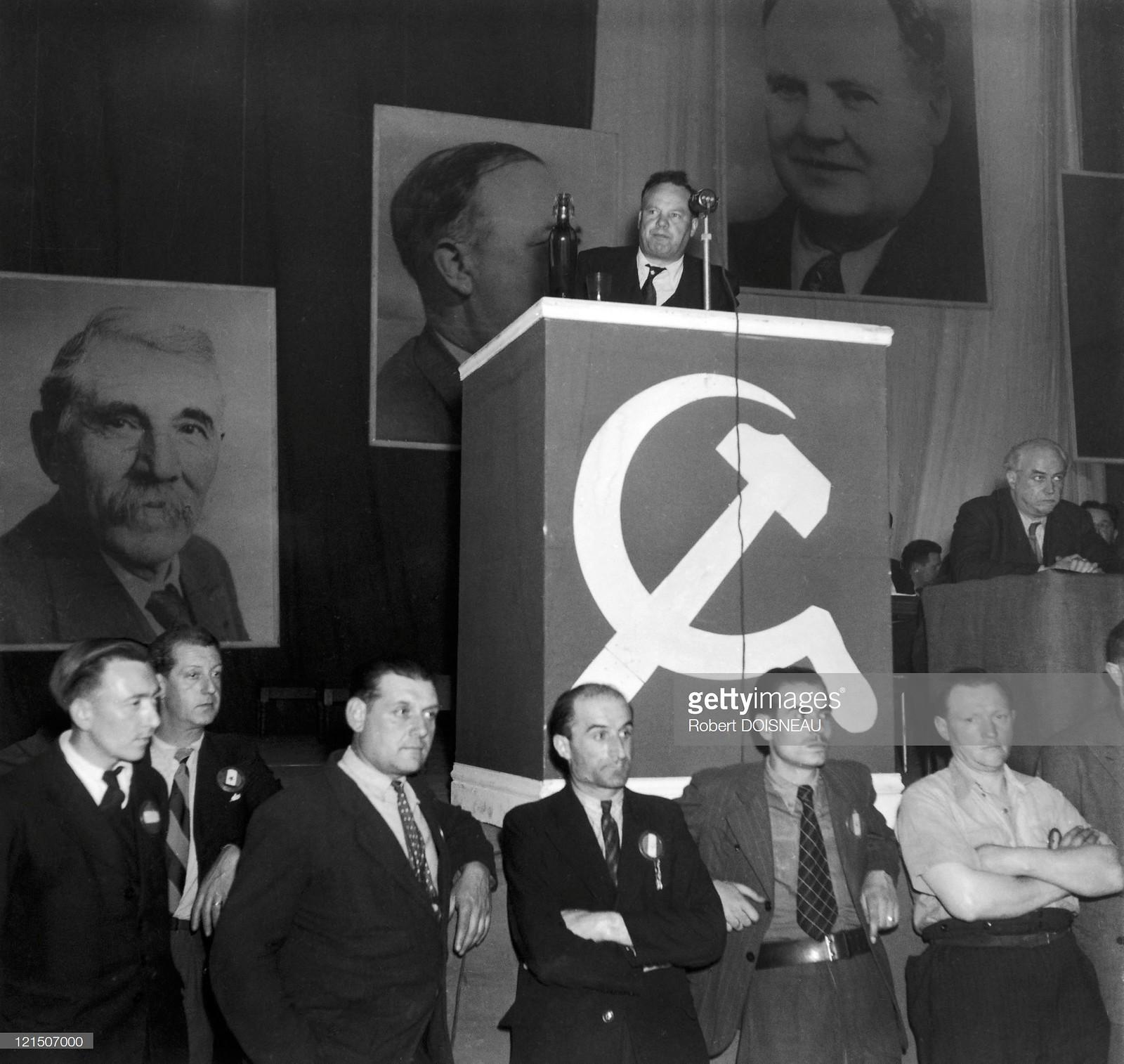 1950. Морис Торез на «Вель д'Ив»