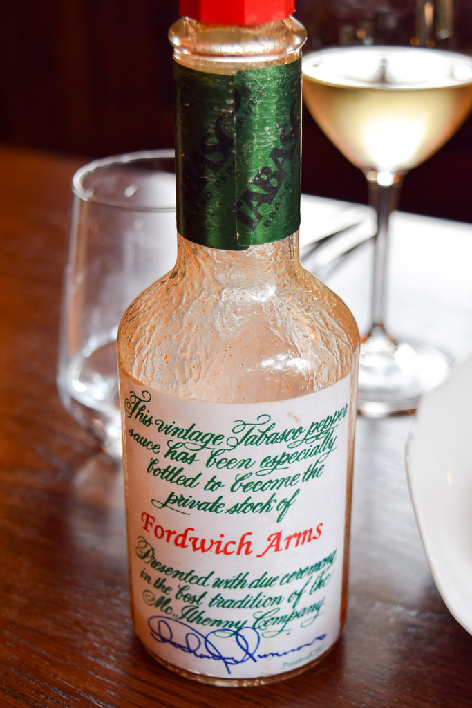 Vintage Tabasco at the Fordwich Arms, Canterbury