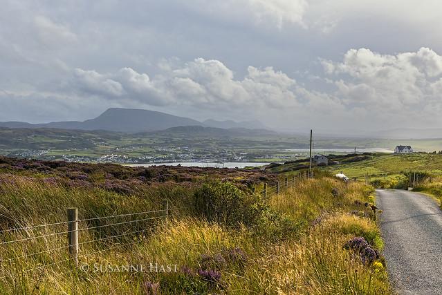 Not far away from Dunfanagy