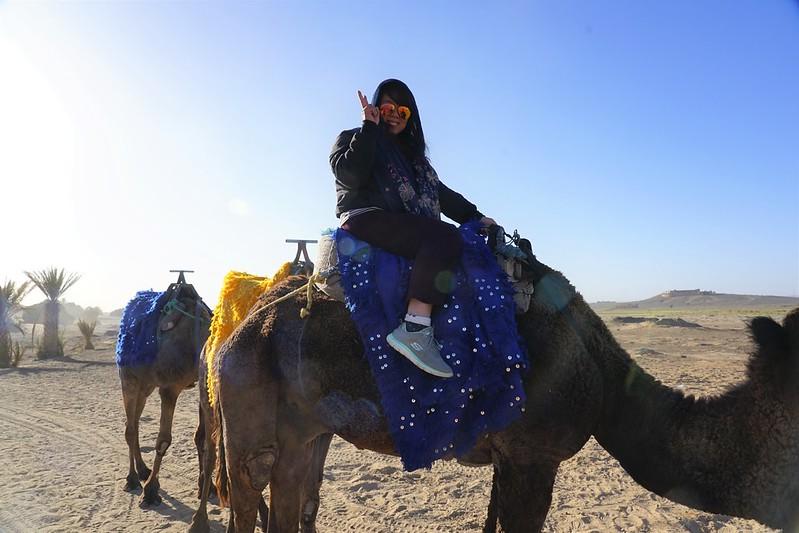 Morocco Merzouga Sahara Desert Tour Camel Ride 01