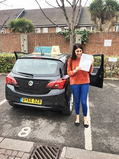 Congrats to Neha on passing her driving test this morning at Isleworth... Well done!!!🚗🚗🚗🚗 | by testbusters